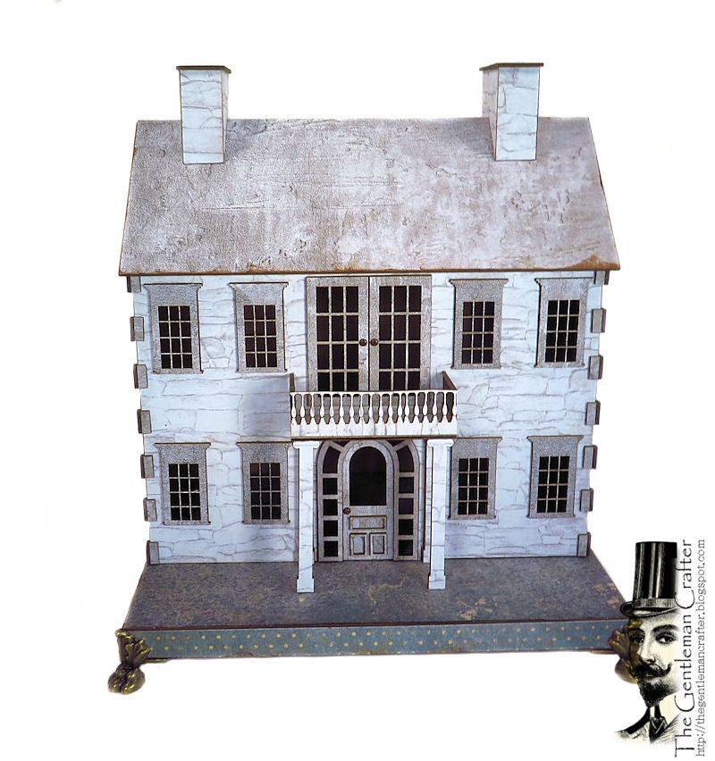 Image of July Village Collection House-Georgian House Kit-Paper