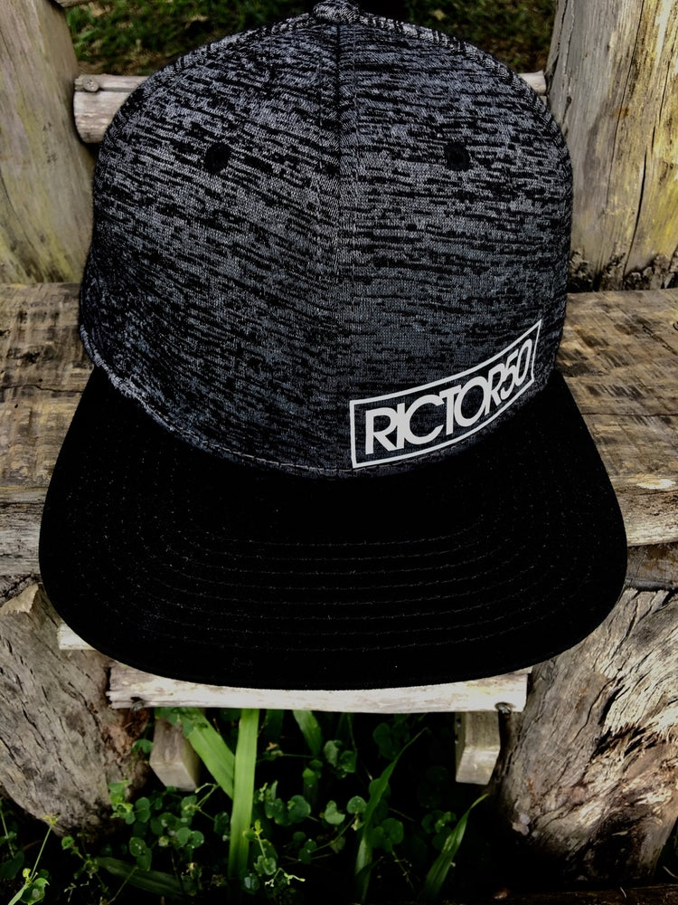 Image of Heathered Grey Snap Backs