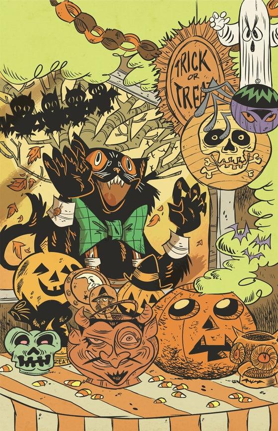 Image of Halloween Hootenanny print