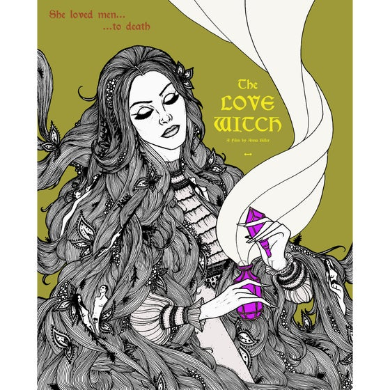 """Image of """"The Love Witch"""" Fan Art Giclée Poster"""