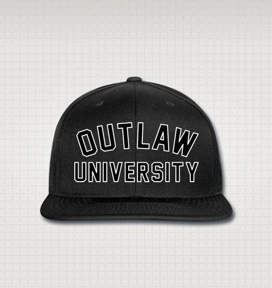Image of Outlaw University Snapback Hat