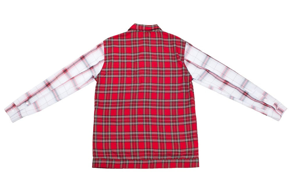 Image of Inferno plaid flannel
