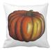 Image of Big Orange Pumpkin Square Pillow