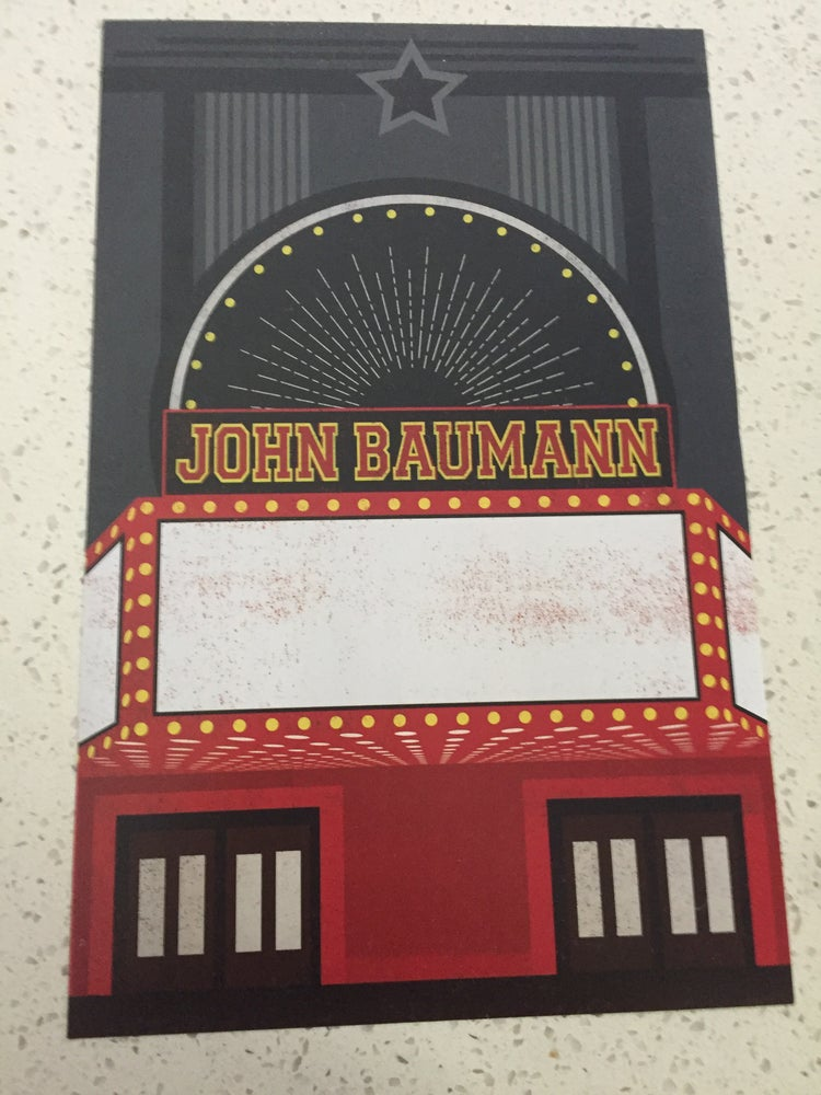 Image of Marquee Show Poster (Signed Upon Request)