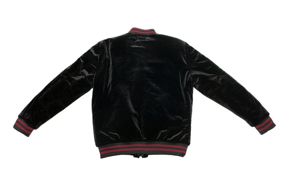 Image of Infrared velvet jacket