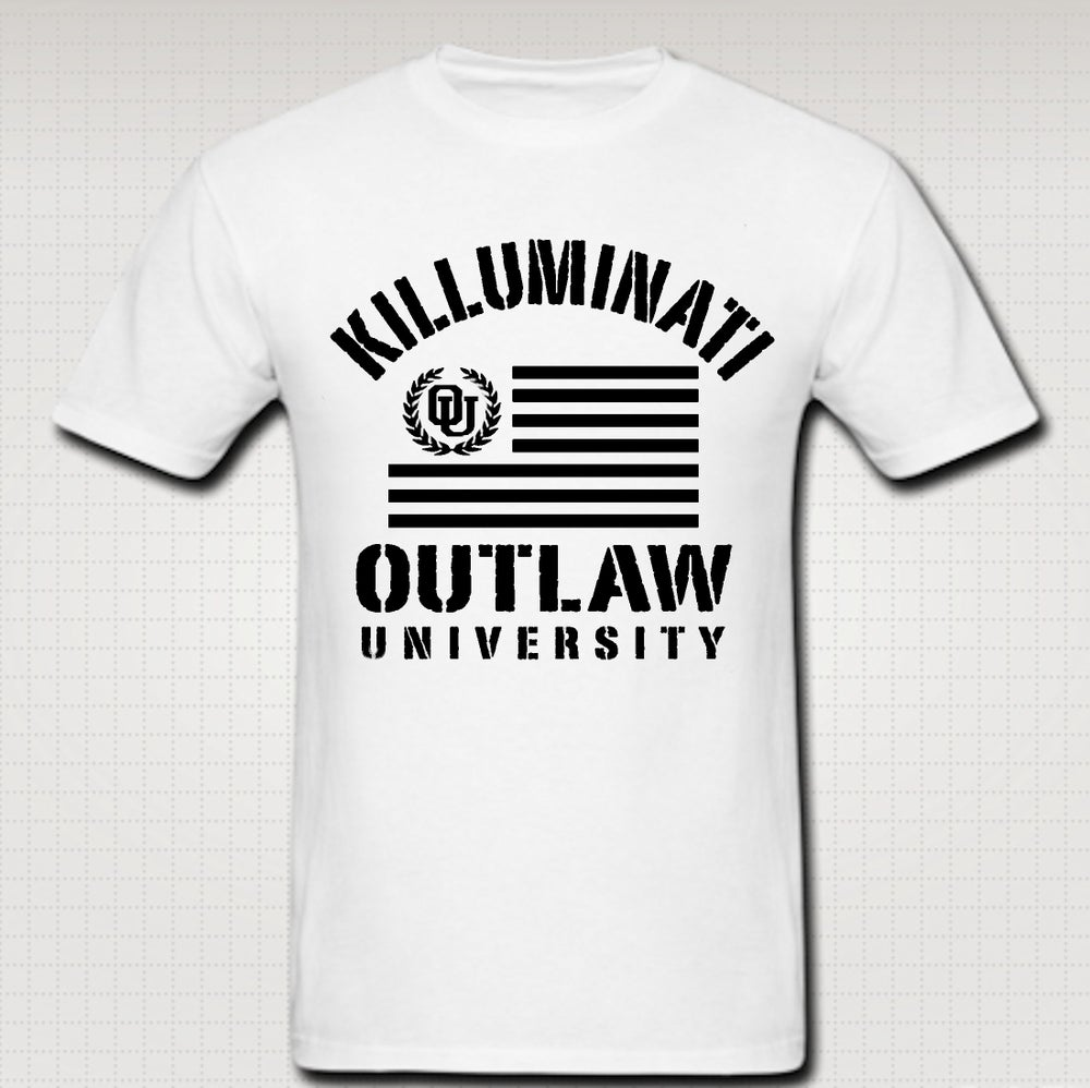 Image of Killuminati Flag Tshirt - Comes in Black, White,Grey,Red,Navy Blue - CLICK HERE TO SEE ALL COLORS
