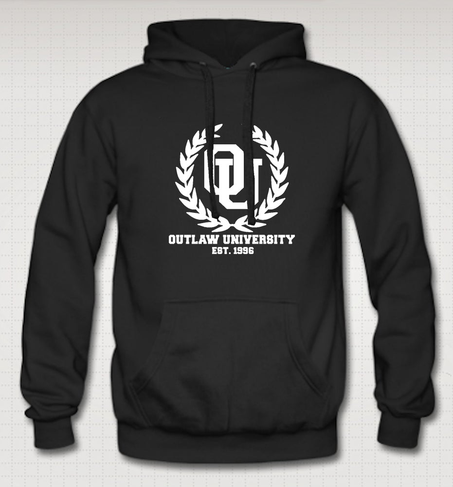 Image of University Hoodie - Comes in Black,Grey,Red,Navy Blue - CLICK HERE TO SEE ALL COLORS