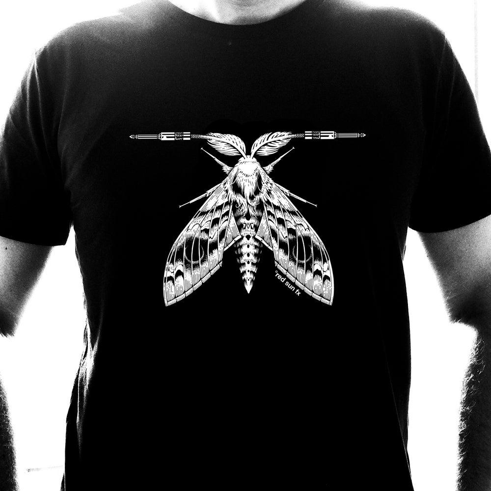 "Image of Shirt ""White Moth"" Designed by Marald van Haasteren"