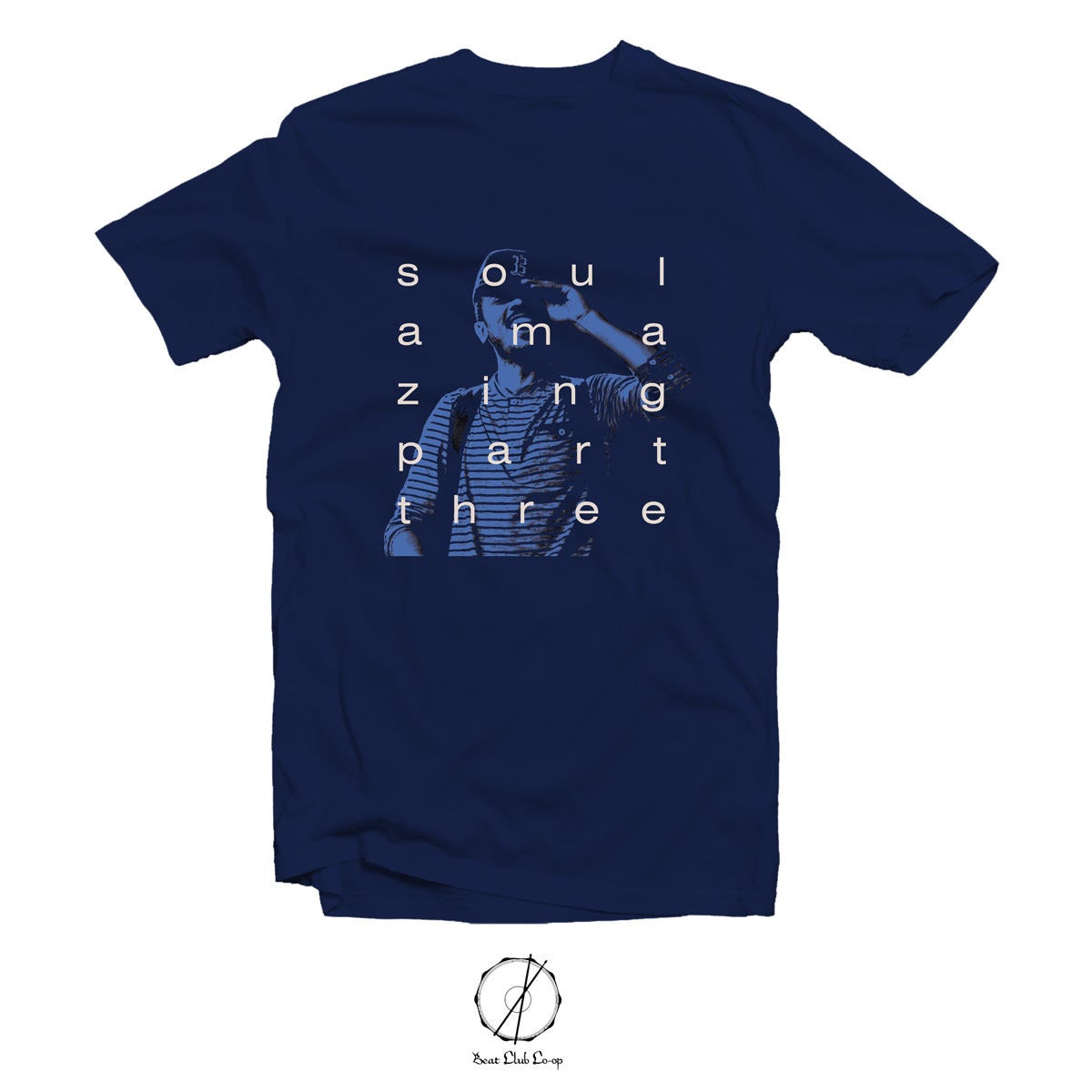 Image of blu soul amazing vol.3 tee