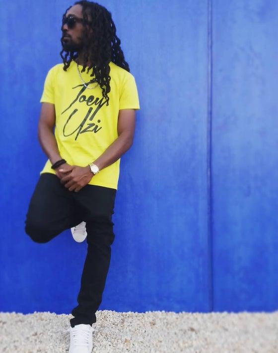 Image of Tshirt Joey Uzi Classic Jaune