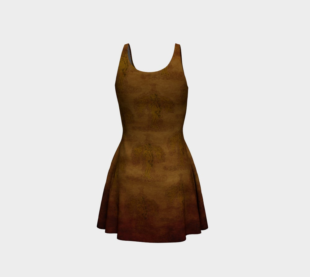 Image of Gaunticelli Flare Dress
