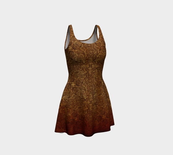 Image of Lawsonia Inermis Flare Dress