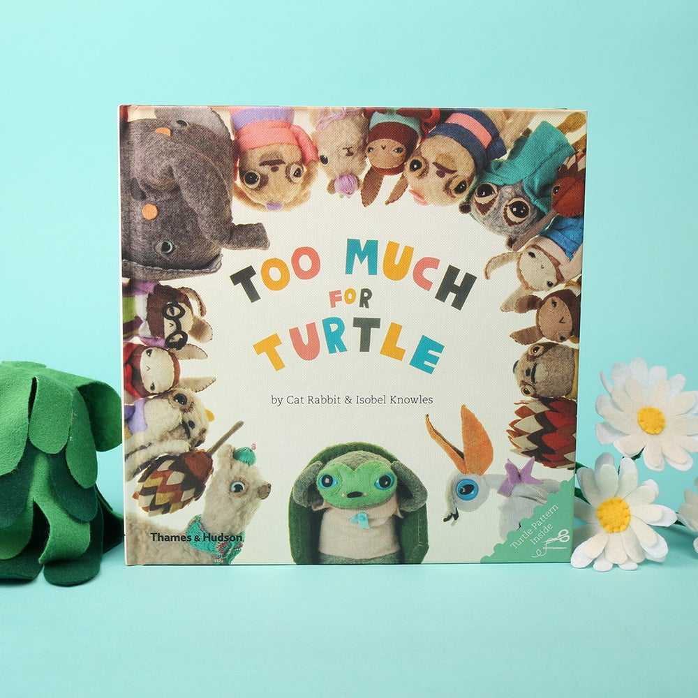 Image of Too Much for Turtle Hardcover
