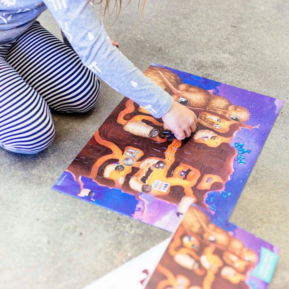 Image of Kuwi the Kiwi 100 Piece Puzzle