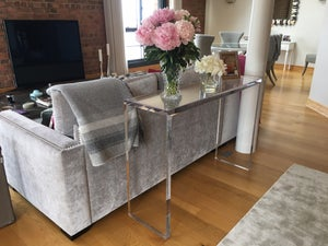 Image of Acrylic Console Table