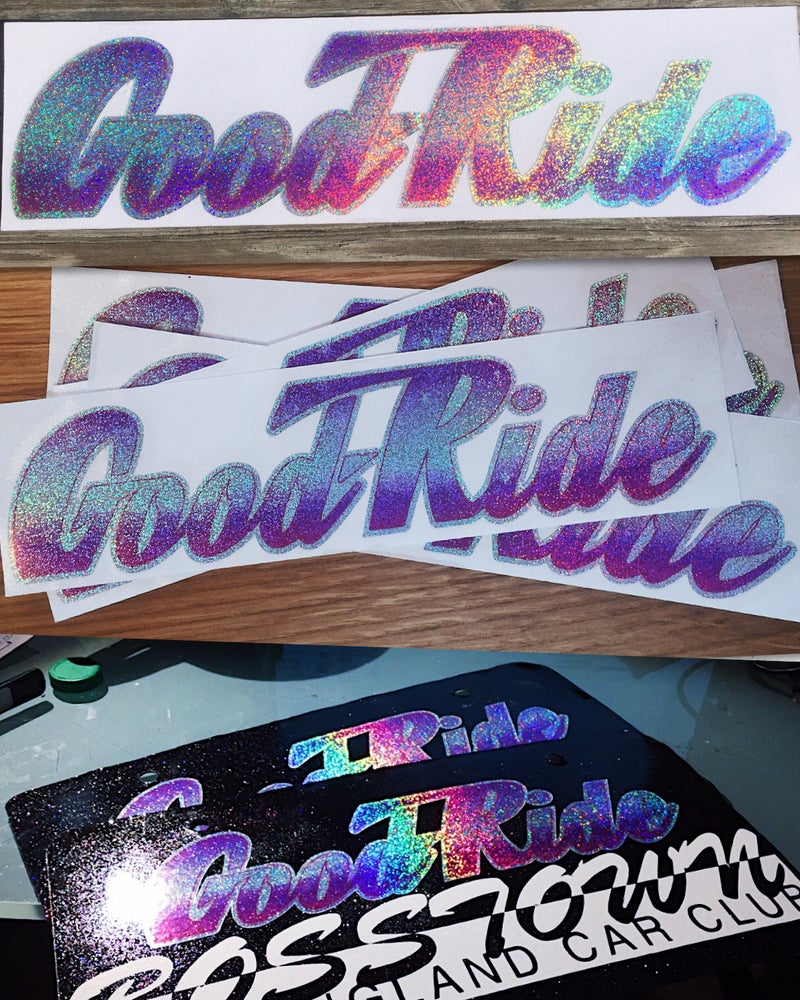 Image of Good-Ride Sticker