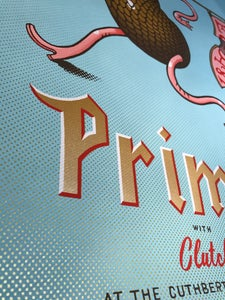Image of Primus 2017 Silkscreen Poster - Gold Variant