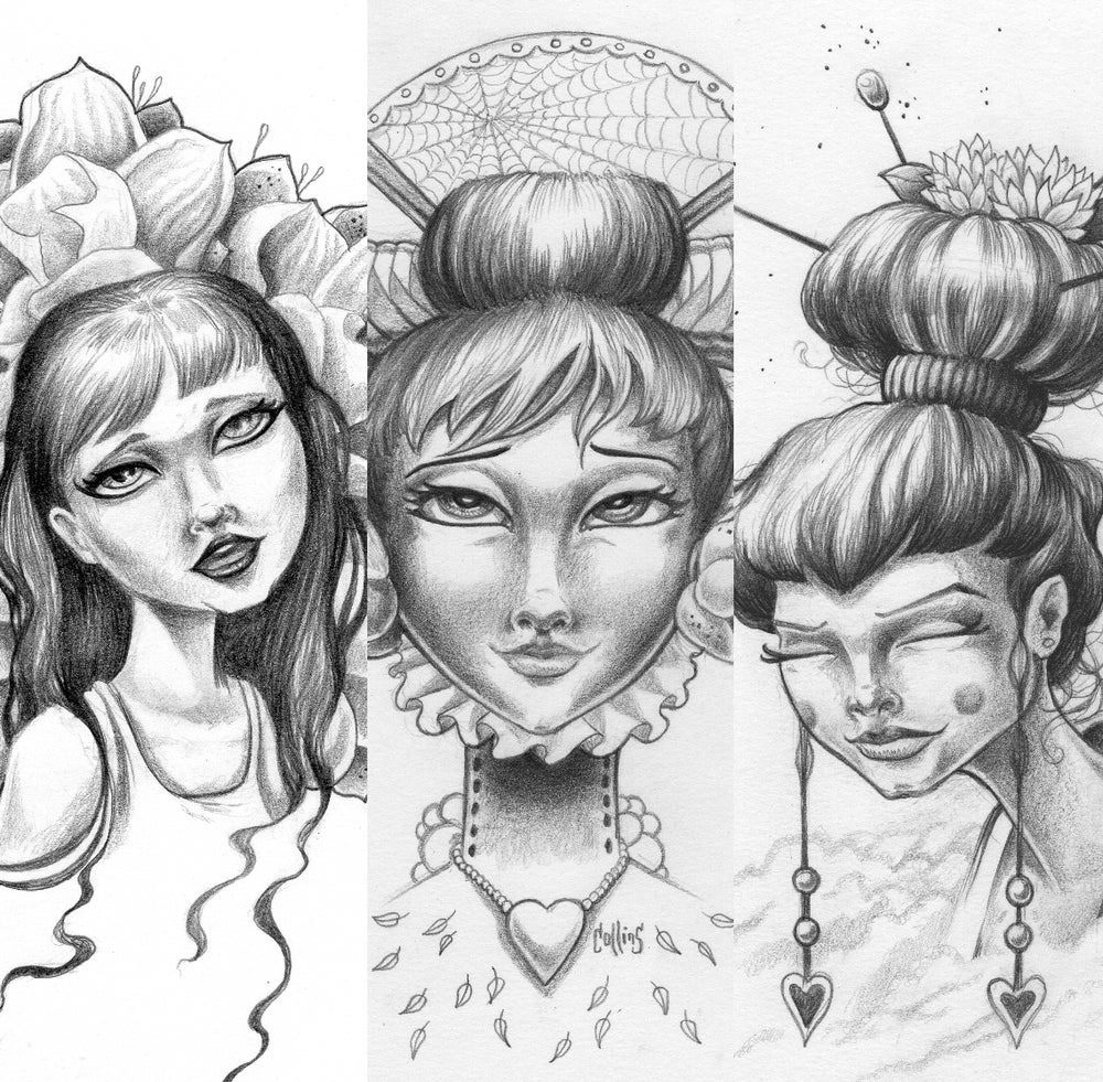 Image of Original Pencil Sketches
