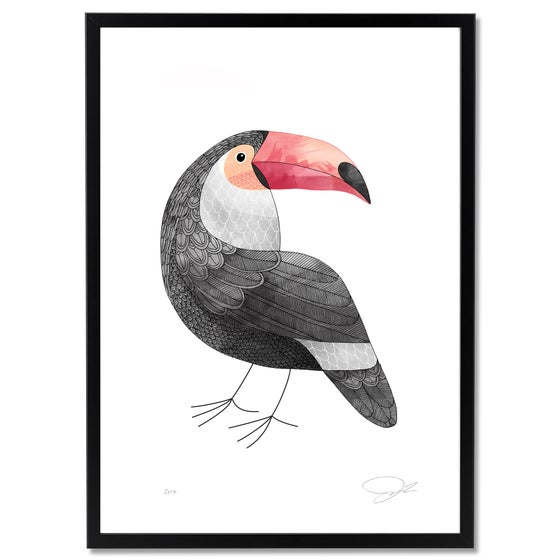 Image of Print: Toucan