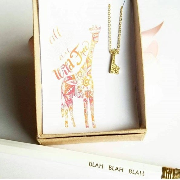 Image of Giraffe Necklace