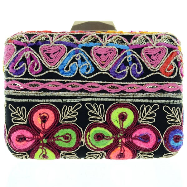 Image of Bohemian Box Clutch