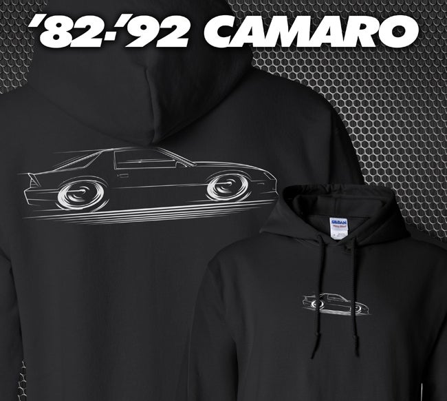 Image of '82-'92 Camaro T-Shirts Hoodies Banners
