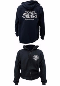 Image of Nine Miles South Logo Hoodie