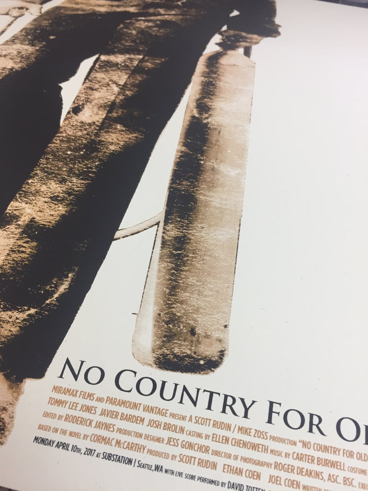 Image of No Country For Old Men :|DEPTHS|: March Screening Poster
