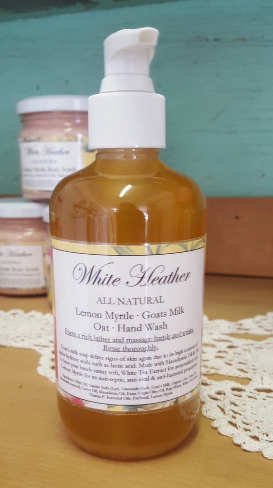 Image of Lemon Myrtle Goats Milk Hand Wash