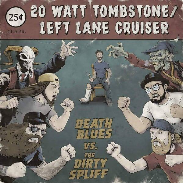 Image of Death Blues Vs. The Dirty Spliff (VINYL)