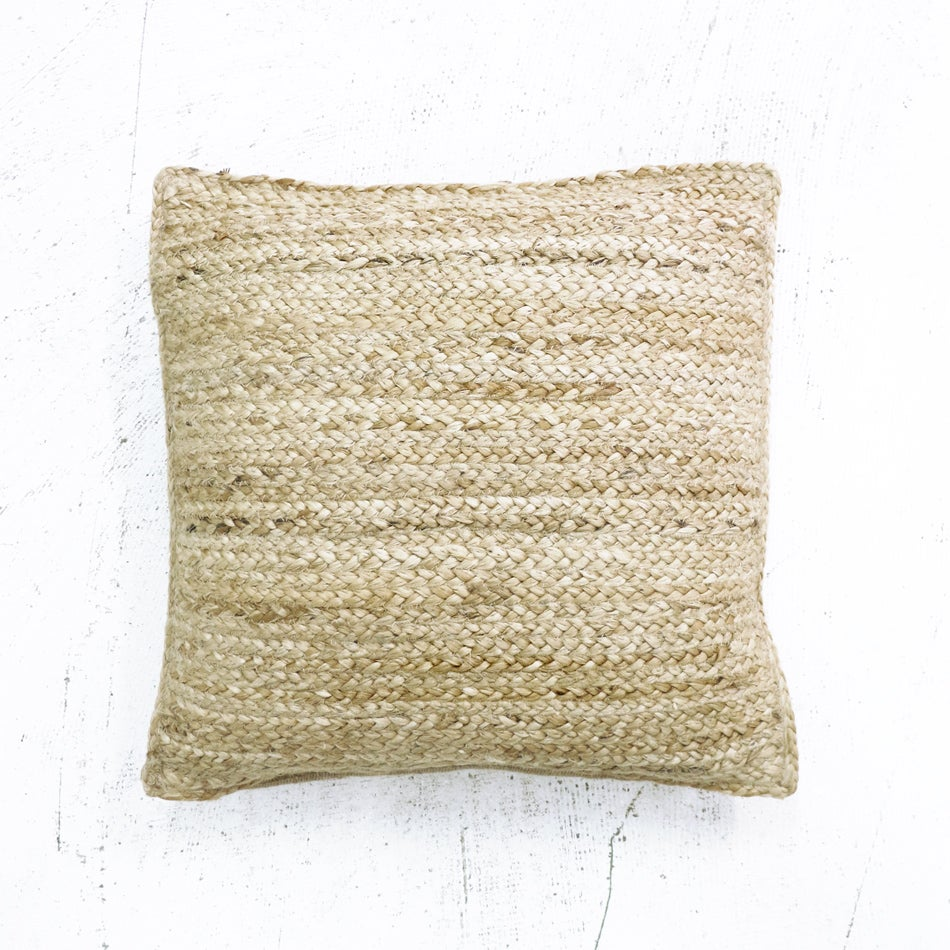 Image of Braided Jute Cushion