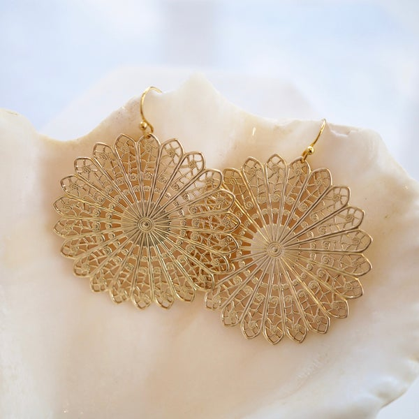 Image of Filligree earrings