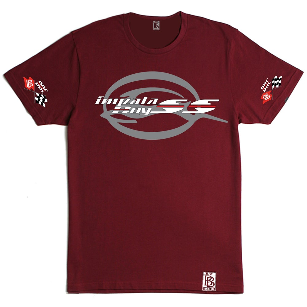 Image of Impala BoySS (Maroon)