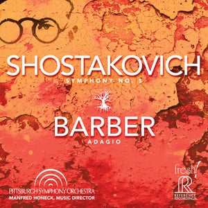 Image of 2-TIME GRAMMY WINNING Shostakovich: Symphony No. 5 and Barber's Adagio