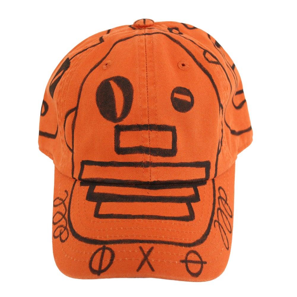 Image of Rust FFP Hand Drawn Hat 03