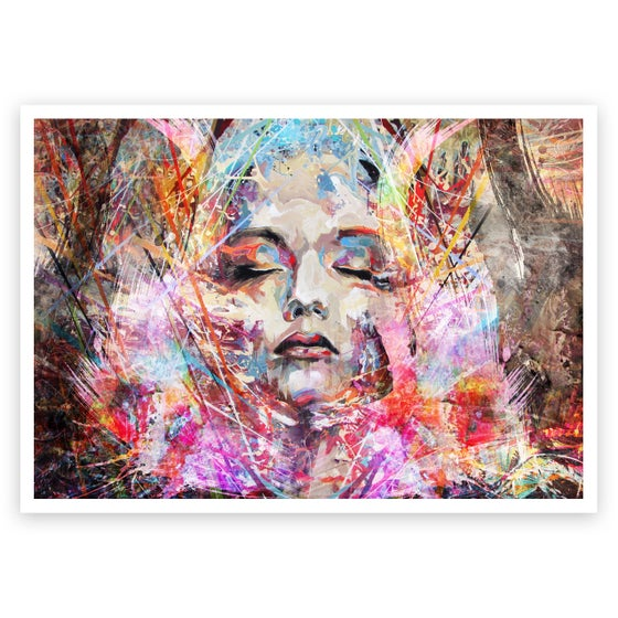 Image of Caught In Contemplation OPEN EDITION PRINT - FREE WORLDWIDE SHIPPING