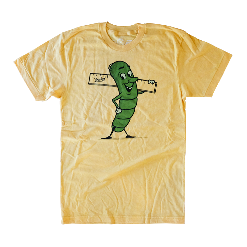 Image of Inchy the Inchworm T-shirt