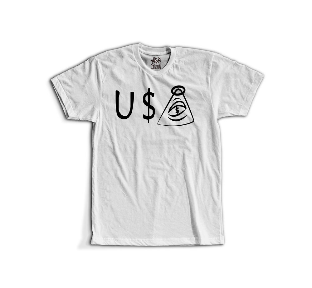 Image of U$A ORIGINAL LOGO TEE (W)
