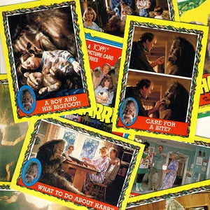 Image of HARRY AND THE HENDERSONS TRADING CARDS