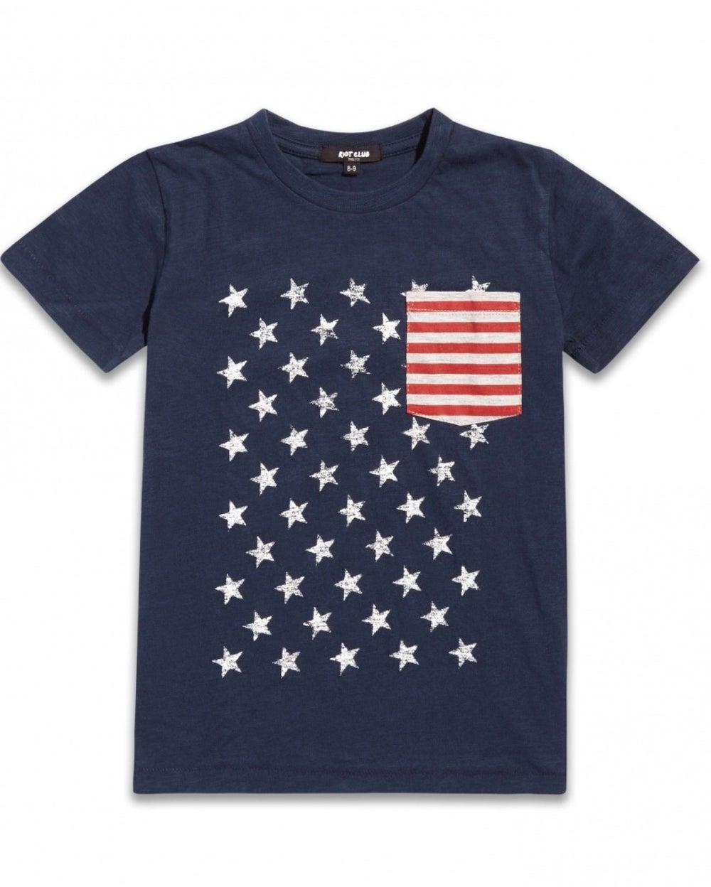 Image of USA printed tee