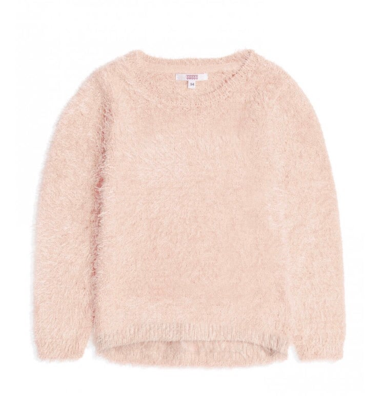 Image of Pink fluffy jumper