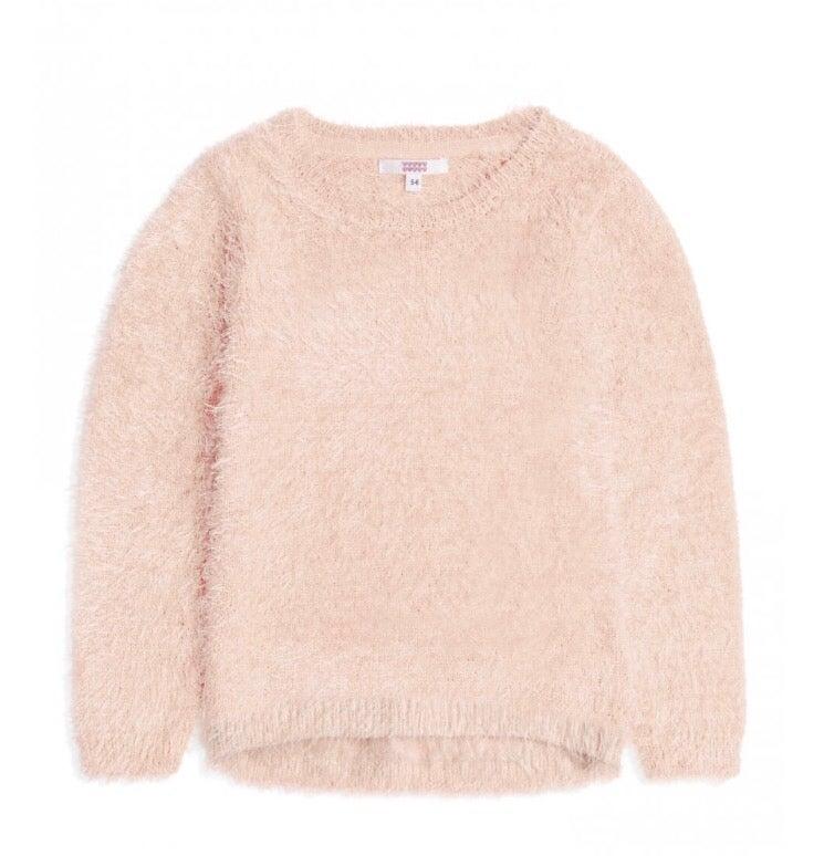 Image of Pink fluffy jumper