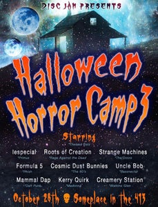 Image of 2017 Disc Jam's Halloween Horror Camp