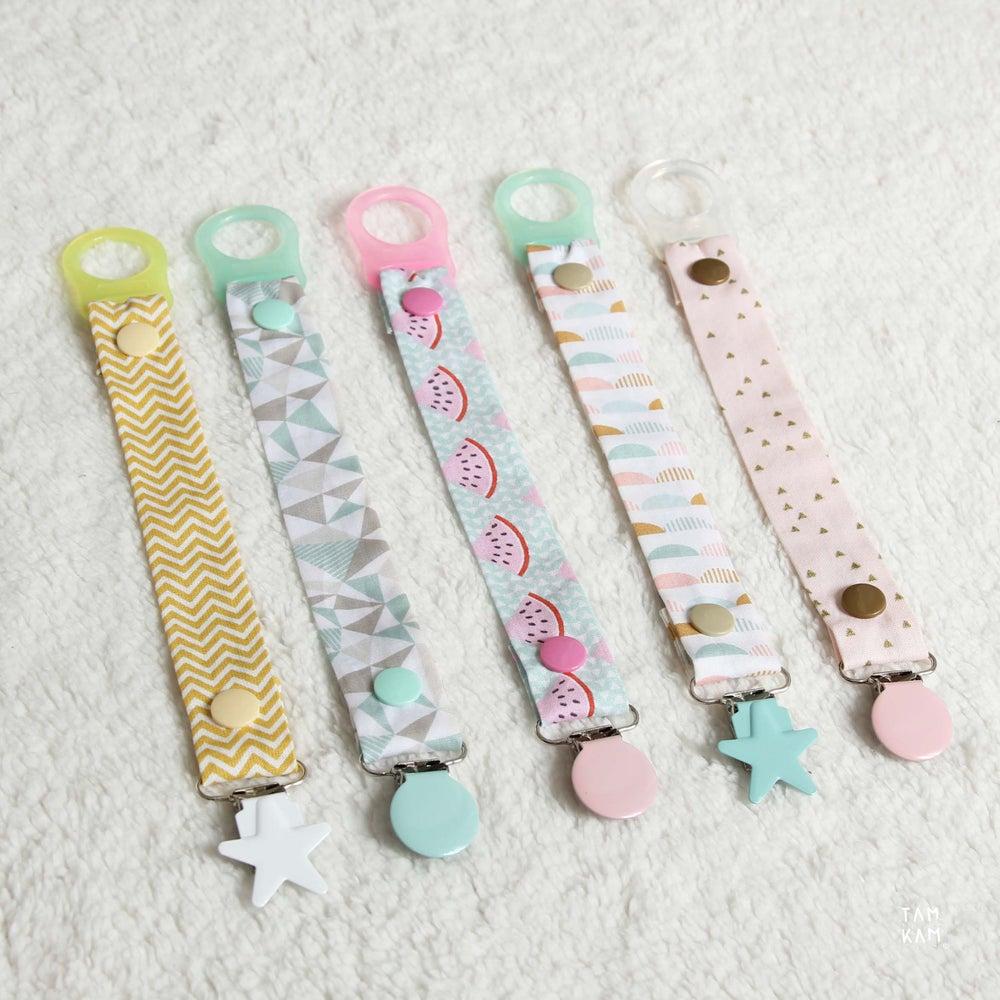 Image of ♡ NEW ♡ Attaches tétine ou doudou - coloris au choix