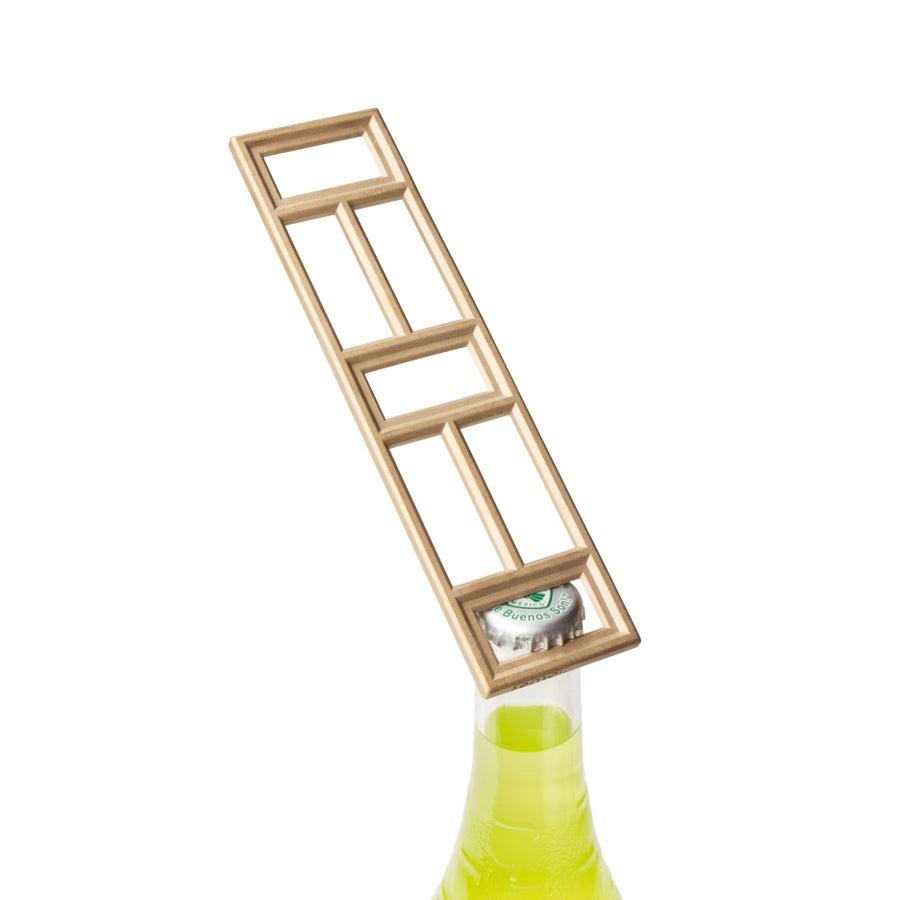 Image of Ventri Satin Brass Bottle Opener
