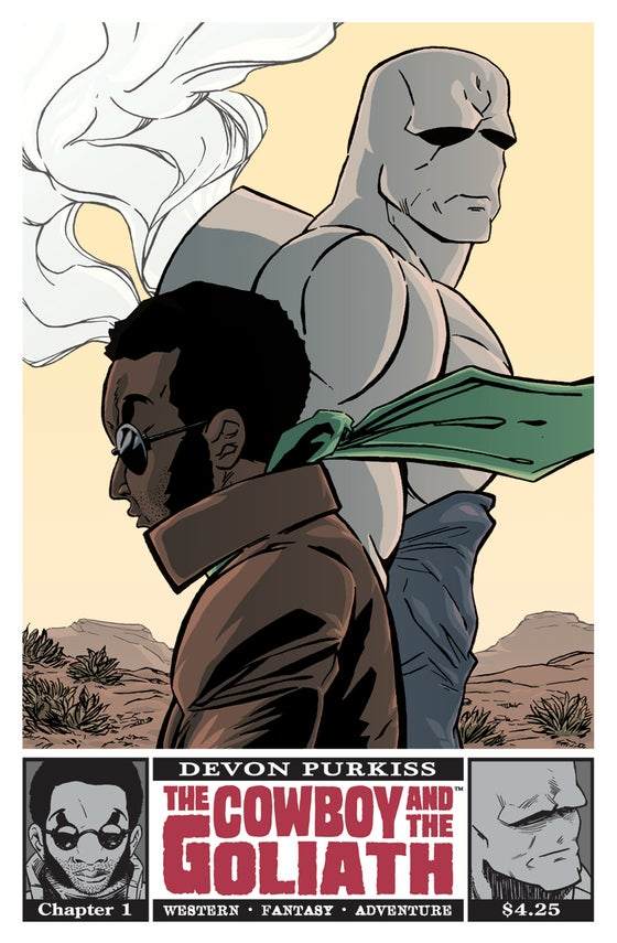 Image of The Cowboy and the Goliath #1 - Remastered