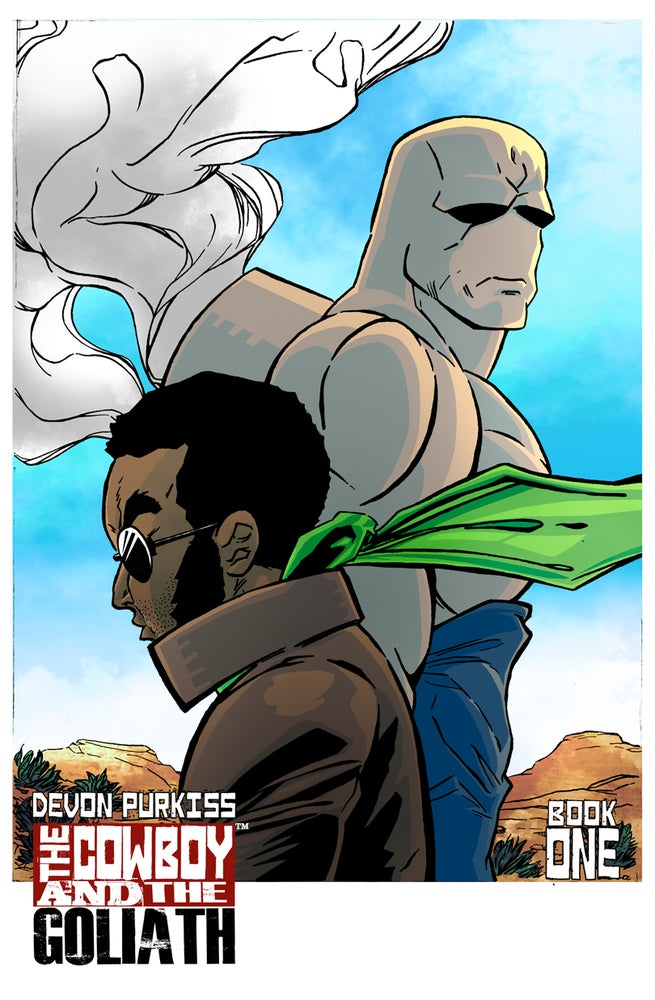 Image of The Cowboy and the Goliath #1