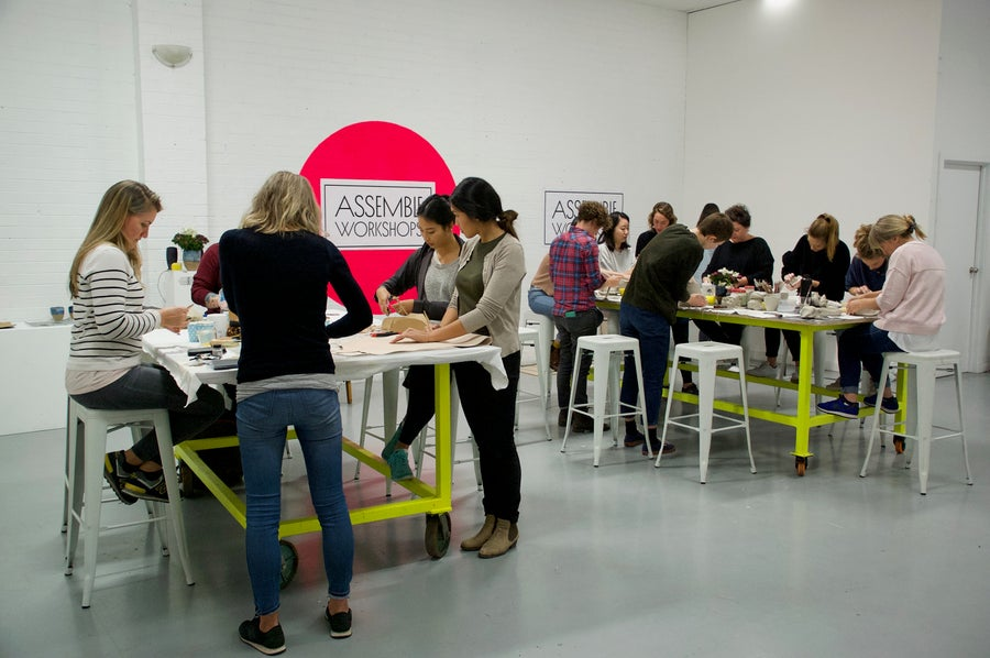 Image of Full Day Workshop - 1st October - Fitzroy - Ceramics & Leather
