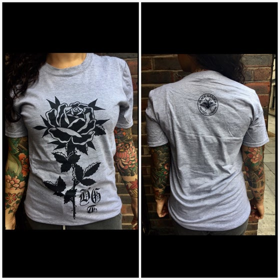 Image of Rose grey T-shirt