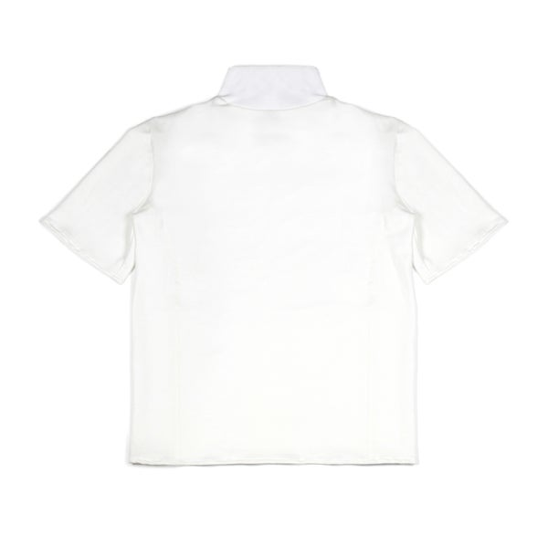 Image of High Neck Tee White